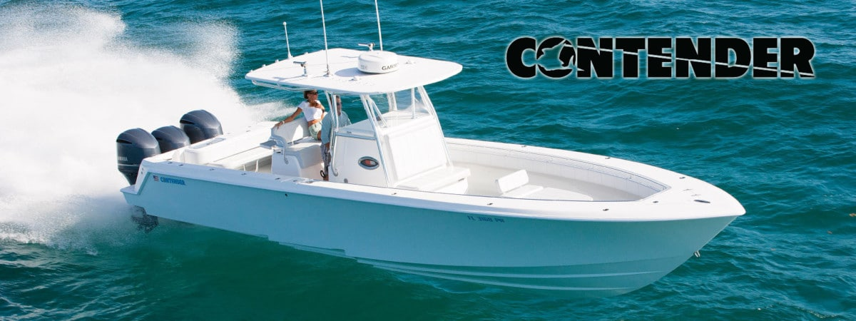 contender sports fishing boats