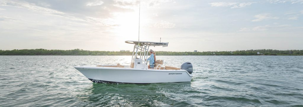 Sportsman Center Consoles- the best boats for fishing